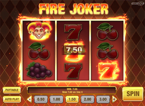 Fire Joker pokies
