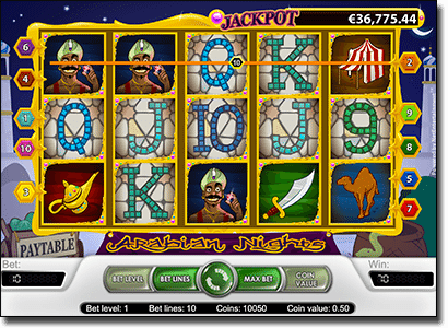 Play Arabian Nights online pokies