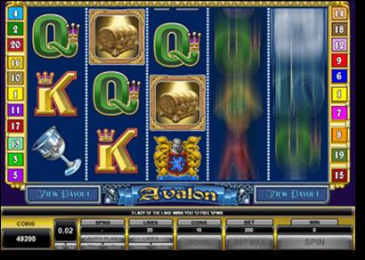 Play Avalon pokies free slots tournament at 32Red Casino