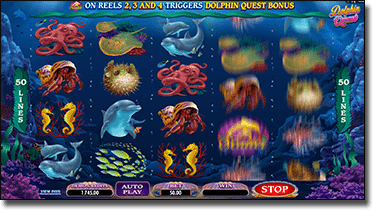 Play Dolphin Quest online pokies for real money