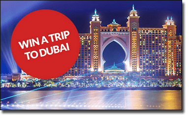 Win a trip to Dubai at Guts Casino