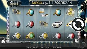 Mega Fortune mobile