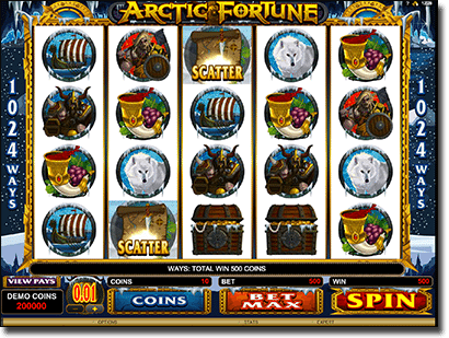 Play Arctic Fortune 1024 Ways online slots