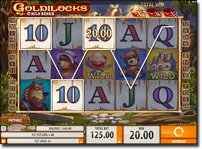 Play Goldilocks pokies online