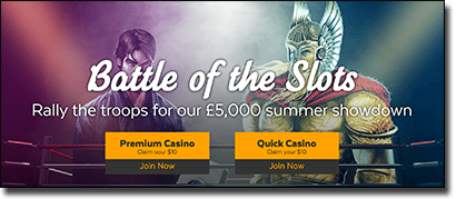 32Red Casino online slots promotions