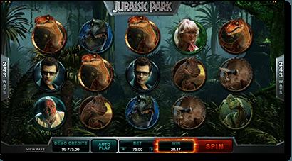Jurassic Park online pokies