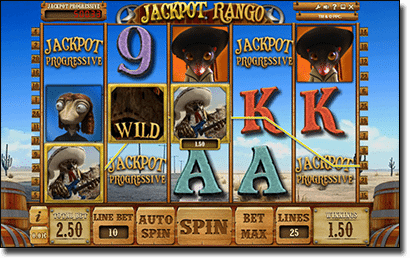 Rango slot machine