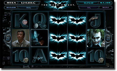 The Dark Knight online pokies for real money