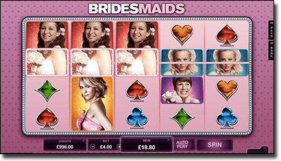 Play Bridesmaids online pokies