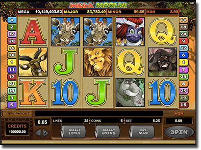 Mega Moolah progressive jackpot pokies over $10 million