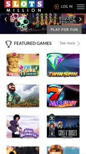 Slots Million mobile casino