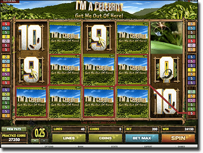I'm a Celebrity... Get Me Out of Here! online pokies