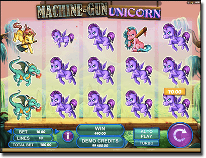 Magic Gun Unicorn pokies