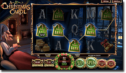 A Christmas Carol 3D pokies by BetSoft
