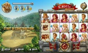 Castle Builder pokies by Rabcat