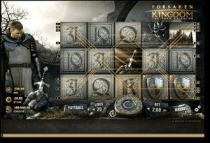 Forsaken Kingdom pokies by Rabcat