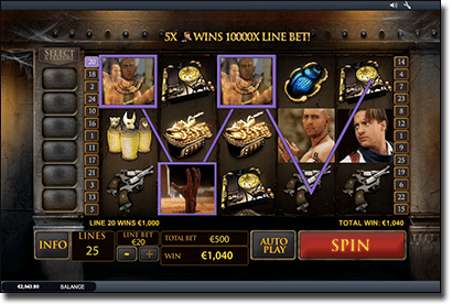 The Mummy Rocky online pokies by Playtech