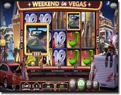 Weekend in Vegas 3D pokies by BetSoft