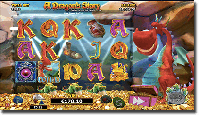 A Dragon's Story pokies by NextGen