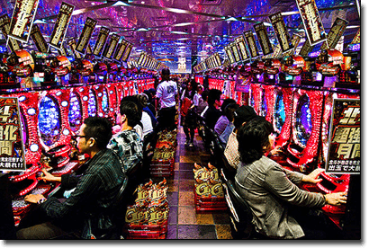 Panchinko pokies machines in Japan