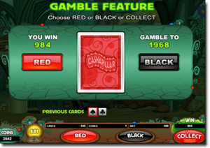 Gamble bonus feature in online pokies games