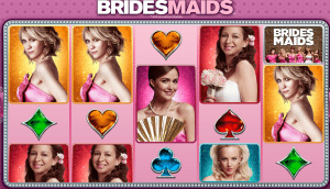 Bridesmaids online pokies based on film