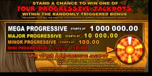 Mega Moolah progressive jackpot pokies feature