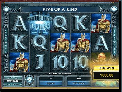 Thunderstruck II online pokies game