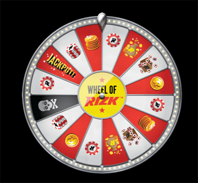 Wheel of Rizk - Rizk Casino bonuses and prizes