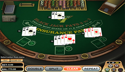 Super 7s Blackjack