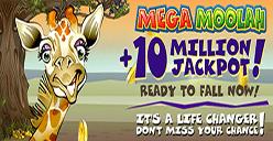 Mega Moolah massive jackpot August 2016