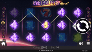 Play Starburst on mobile Android and iOS devices
