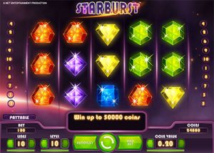 Starburst online pokies by NetEnt