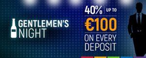 Join in Gentlemen's Night bonuses at Slots Million Casino
