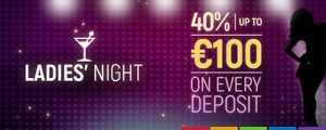 Join in Ladies Night bonuses at Slots Million Casino