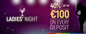 Join in Ladies Night bonuses at Slots Million Casino