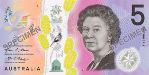 New $5 Australian bank note problems at the pokies