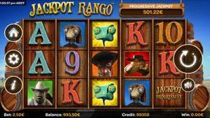 Jackpot Rango mobile progressive jackpot pokies by iSoftBet