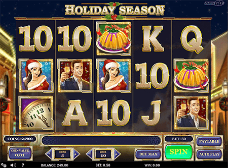 Holiday Season pokie