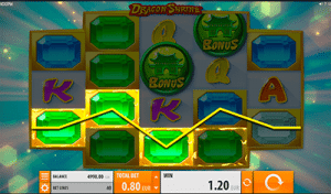 Dragon Strike pokies by Quickspin software
